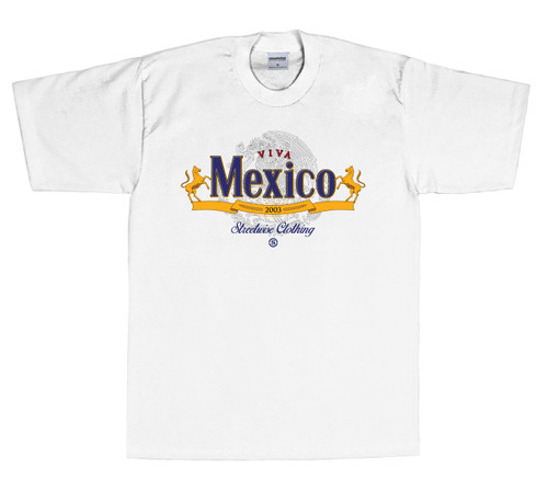 Streetwise Viva Mexico T-Shirt in White