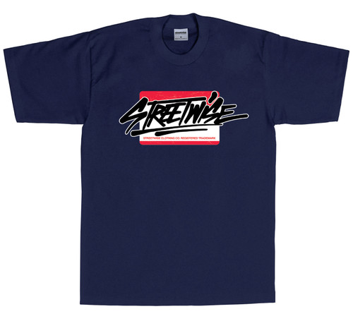 Streetwise Street Stickers T-Shirt NVY