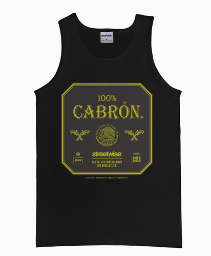Streetwise 100% Cabron Tank Top