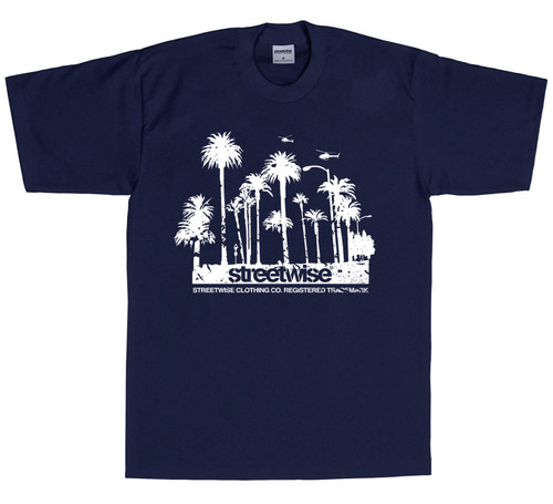 Streetwise My City T-Shirt in Navy