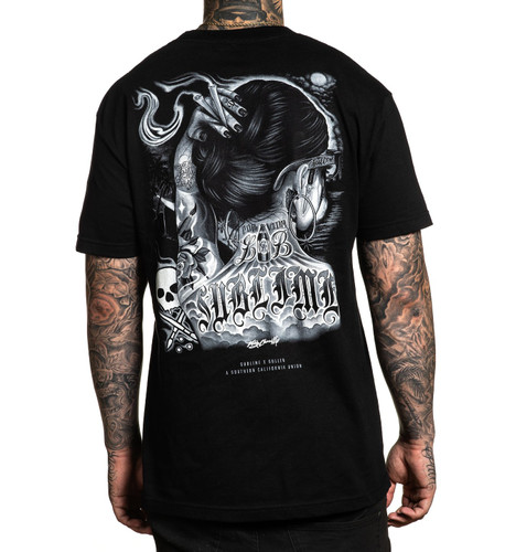 Sullen One Drop T-Shirt back print