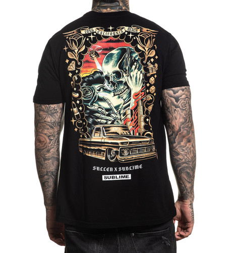 Sullen Saw Red T-Shirt back