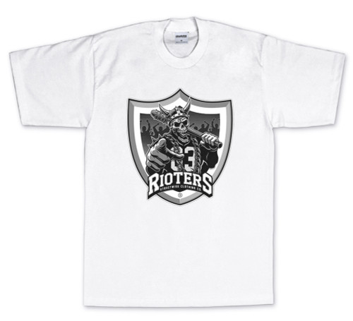 Streetwise Black Hole T-Shirt in white