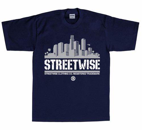 Streetwise City Vibes 2.0 T-Shirt NVY