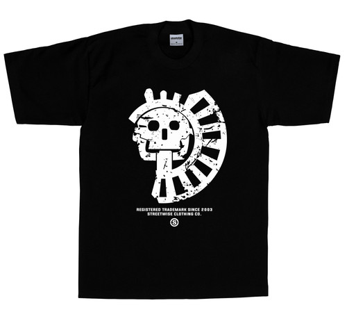 Streetwise Rooted T-Shirt in black