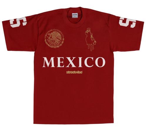 Streetwise Narco Polo T-Shirt (BURG)