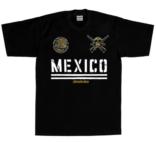 Streetwise Narco State T-Shirt in black