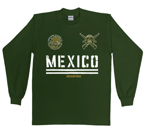 Streetwise Narco State Long Sleeve in dark green