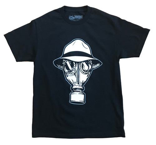 Psycho Realm Gas Mask T-Shirt front