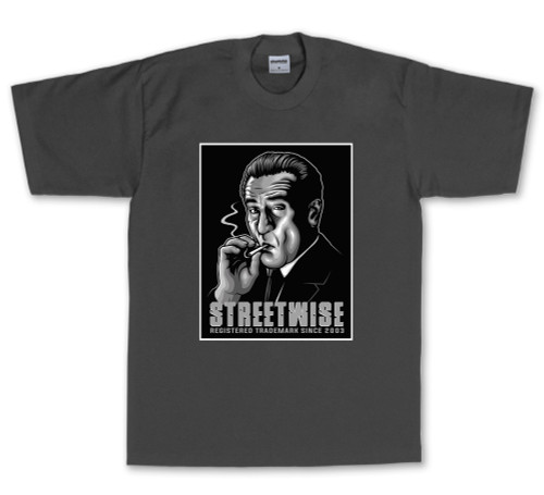 Streetwise Made Man T-Shirt in charcoal