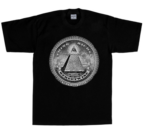 Streetwise Think Riches T-Shirt in black