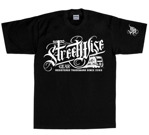 Streetwise Metro T-Shirt in black