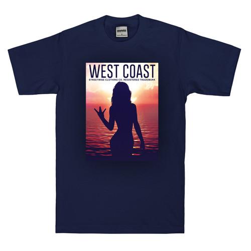 Streetwise W's T-Shirt in Navy