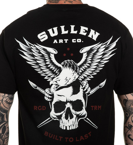 Sullen Lincoln Eagle T-Shirt upclose