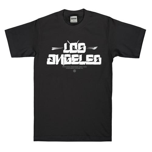 Streetwise Los Blocks shirt in black