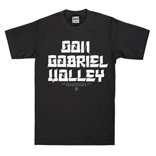 Streetwise SGV Blocks Shirt in black