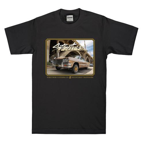Streetwise Golden Shirt in black