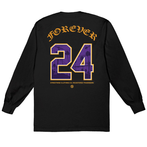 Streetwise Forever 24 Long Sleeve Shirt Back