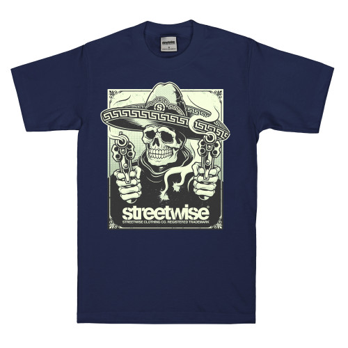 Streetwise Gunsmoke T-Shirt NVY