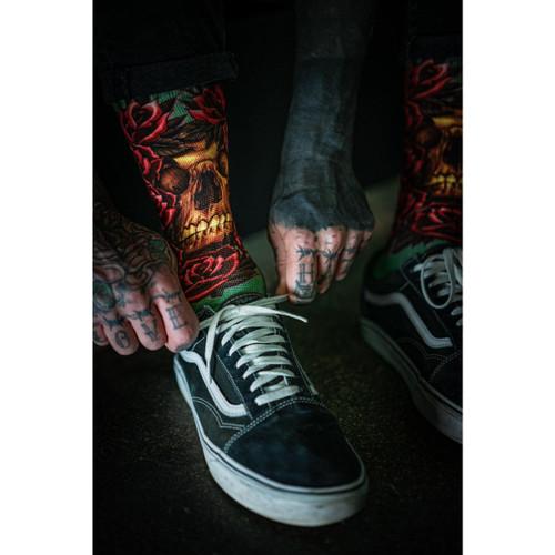 Sullen Peek Thru Socks