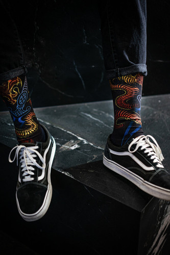 Sullen Shake Snake Socks