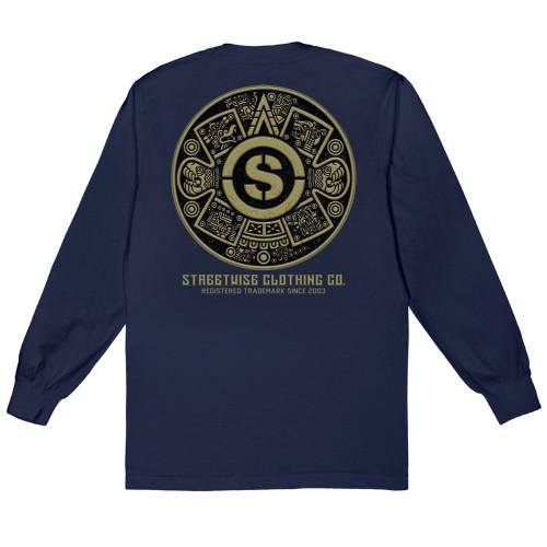 Streetwise Azteca Long Sleeve NVY