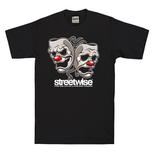 Streetwise All Smiles T-Shirt in black