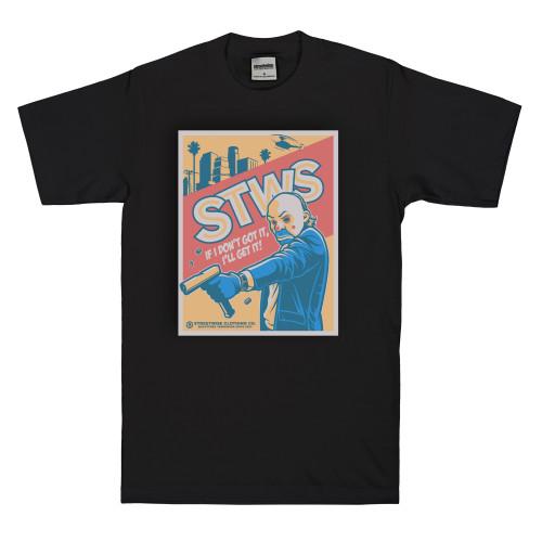 Streetwise Clowns T-Shirt in black