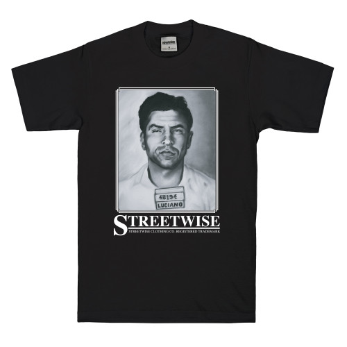 Streetwise Lucky T-Shirt in black