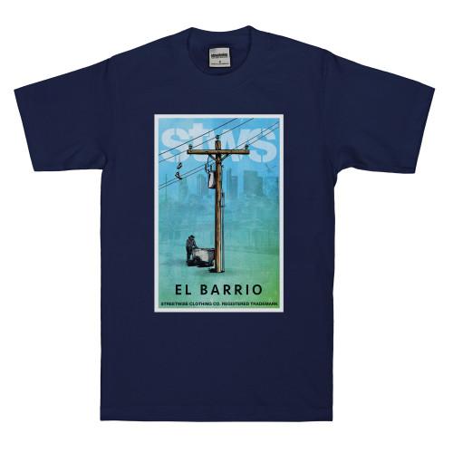 Streetwise El Barrio T-Shirt Navy