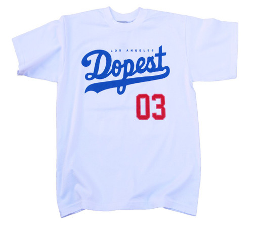 Streetwise Dopest T-Shirt in white