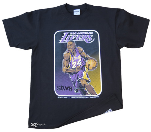 Streetwise 4Ever T-Shirt.  Kobe Bryant Illustration