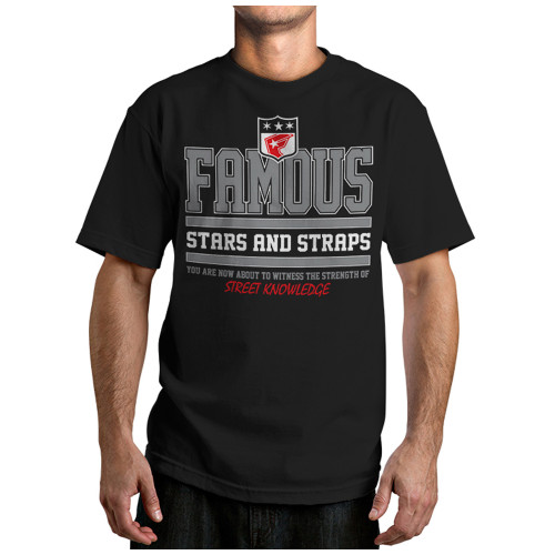 Famous Stars and Straps Street Knowledge Tee