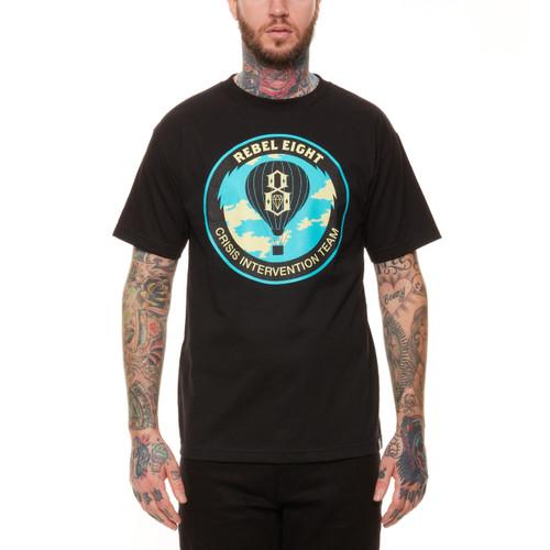 Rebel8 Crisis Intervention T-Shirt in black