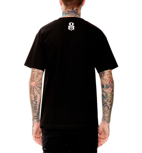 Rebel8 Skate and Deceased T-Shirt  - Back