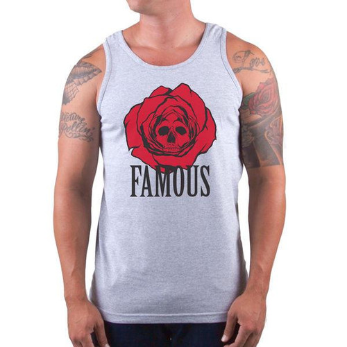 Famous Stars and Straps Tank Top Dead Rose