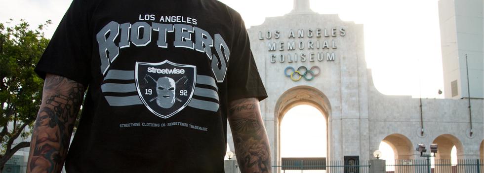 Streetwise Rioters T-Shirt West Coast Los Angels Street wear
