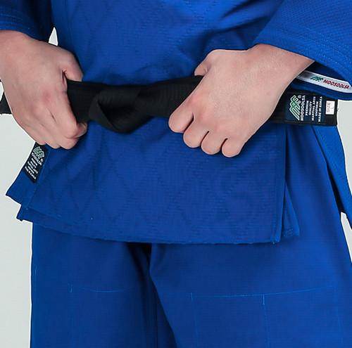 JuDo Premium Uniform approved by JDF - Blue
