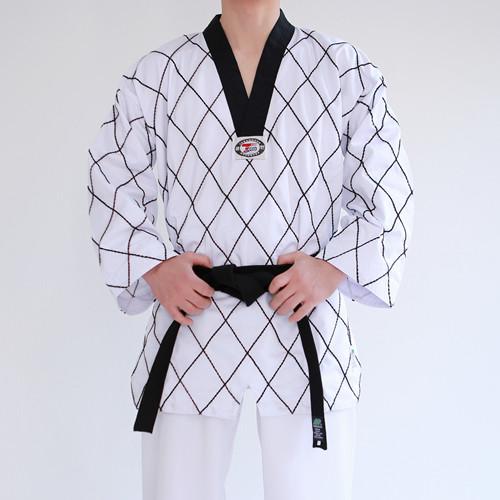 TaeKwonDo Checker Uniform (Takes 1-2 weeks to make this product)