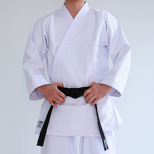 KHF All White Hapkido Uniform (Takes 1- 2 weeks to make this product)