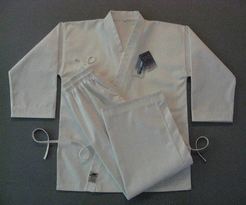 Premium Functional White HapKiDo Uniform (Takes 1- 2 weeks to make this product)