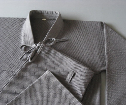 KHF Grey Duo Hapkido Uniform (Takes 1- 2 weeks to make this product)