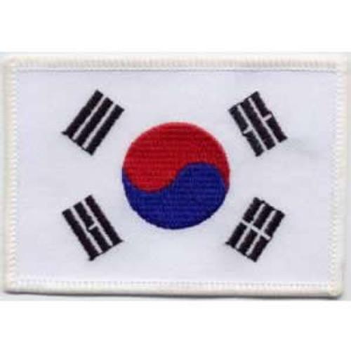 Korean Flag1 Patch