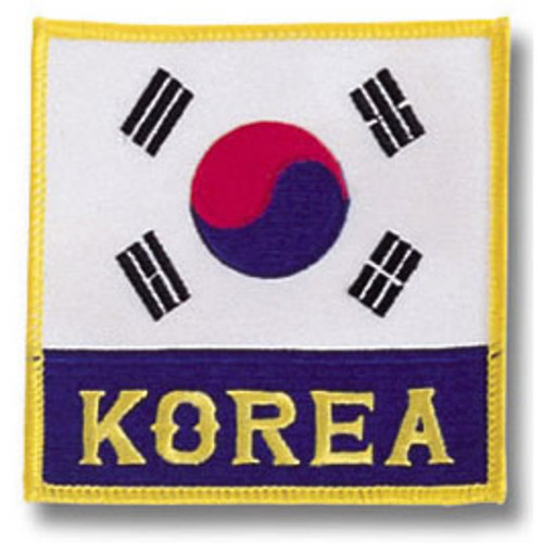 Korean Flag2 Patch
