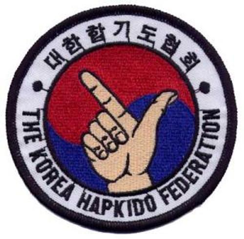 Korea Hapkido Federation Patch