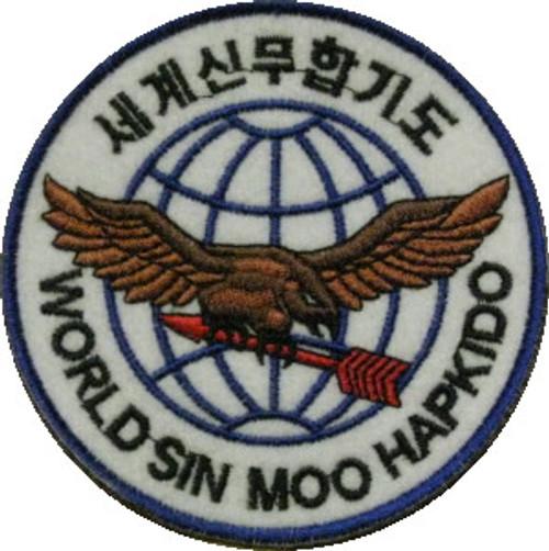 World Sin Moo Hapkido Patch