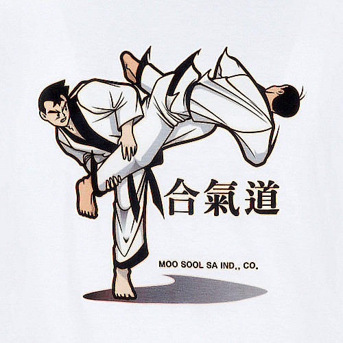 HAPKIDO in Chinese T-Shirts