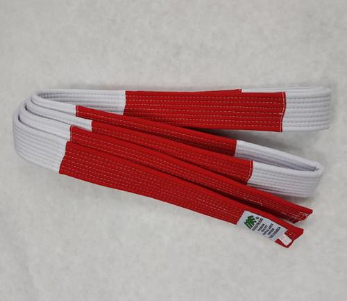 Judo Red White Belt