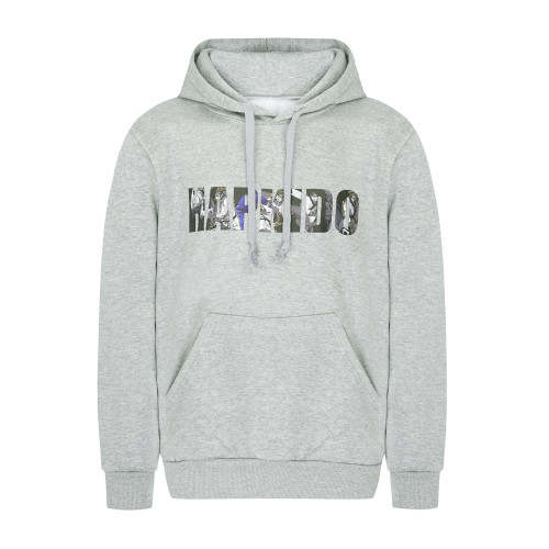 HAPKIDO Hooded T-Shirts Grey