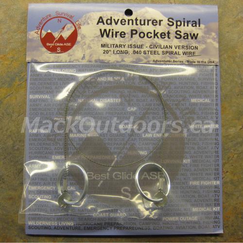Best Glide Adventurer Spiral Wire Pocket Saw